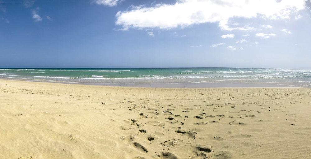 playa de fuerteventura sitio seguro para viajar por el covid 19