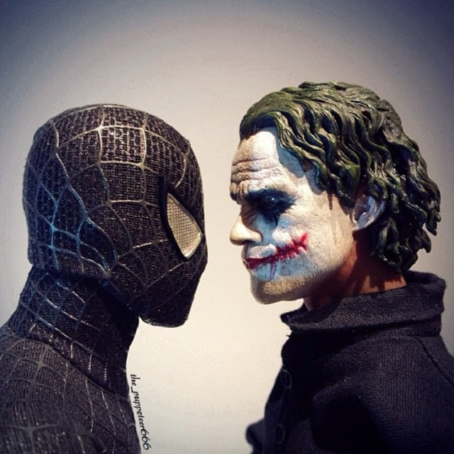 Spiderman contra Joker